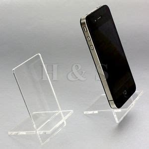 Acrylic Stand Untuk Smartphone top quality acrylic mobile phone stand holder retail shop display ipod b ebay