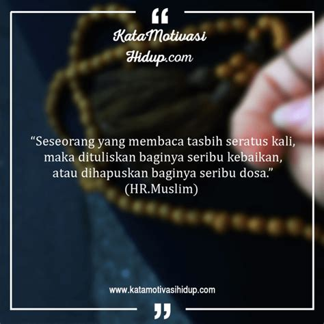 inspirasi keren kata motivasi hidup  islam