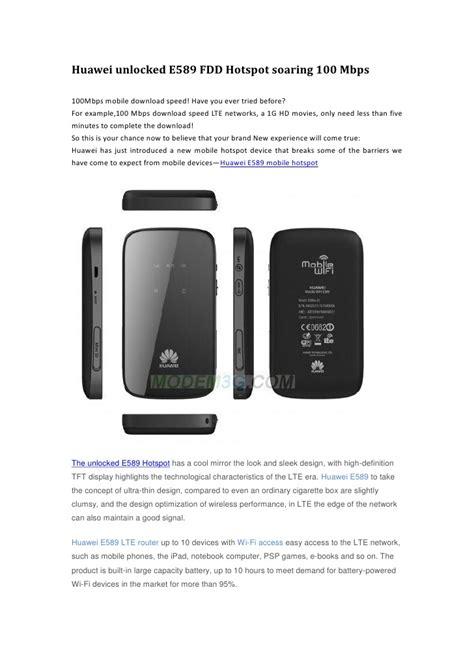 Modem Huawei 100 Ribuan huawei unlocked e589 fdd hotspot soaring 100 mbps