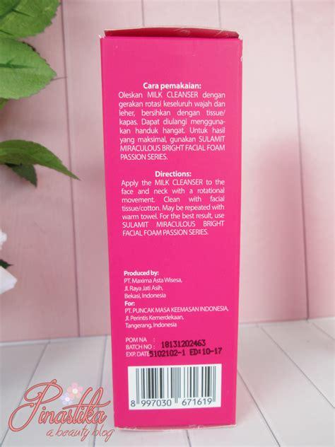 Toner Dan Milk Cleanser Viva pinastika sulamit series sulamit