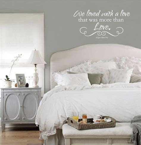 wall sayings for bedroom bedroom wall quotes vinyl wall decals we loved