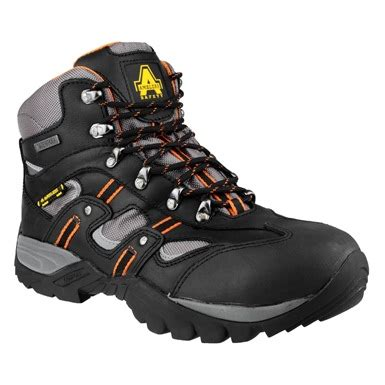 Sepatu Boots Safety Caterpilar Kansas Steel Toe Black 1 amblers fs193 steel mir tex waterproof safety boots