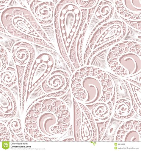 seamless pattern lace seamless white lace pattern stock vector illustration of