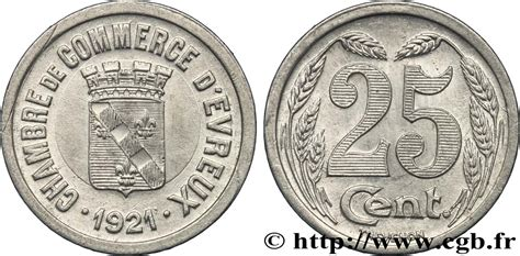 chambre de commerce d evreux 25 centimes evreux sup fnc