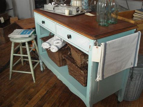 repurposed kitchen island repurposed dresser into kitchen island for the home