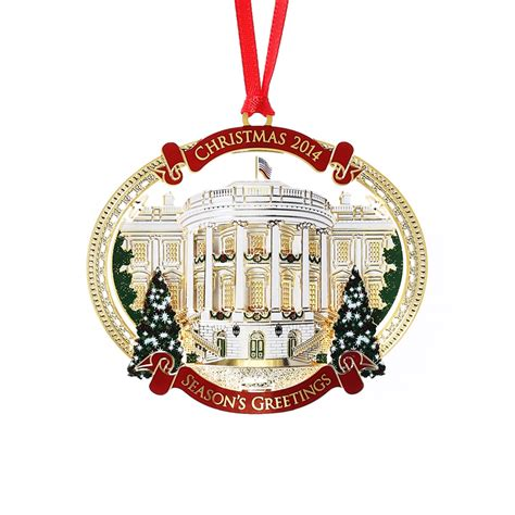 2014 white house christmas ornament giannini design