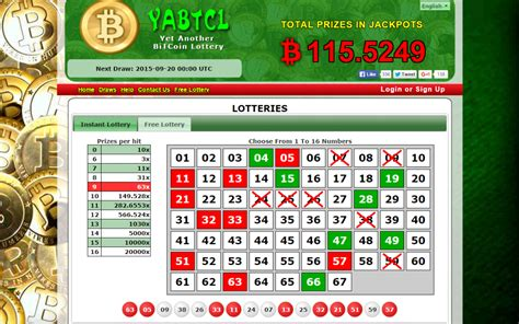 Bitcoin Lottery | bitcoin lottery yabtcl offers over 1 btc in free draws