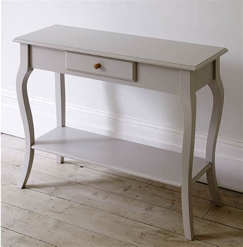narrow console table with drawer narrow