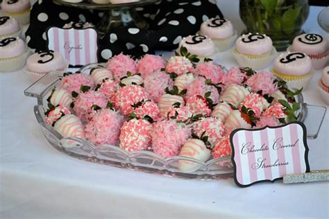 Pink Baby Shower Foods by Bump Smitten Real Baby Shower G Is For Gentry