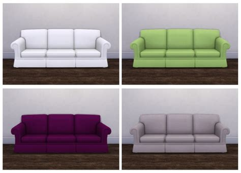 cc couch hipster hugger sofa recolors at saudade sims 187 sims 4 updates
