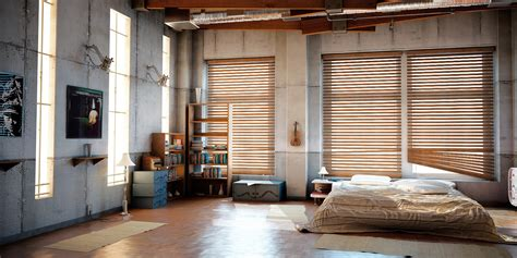 bedroom warehouse industrial loft by denisvema on deviantart