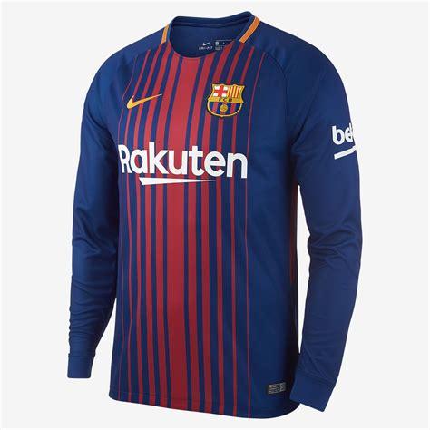Tshirt Barcelona 13 2017 18 fc barcelona stadium home s sleeve football shirt nike za