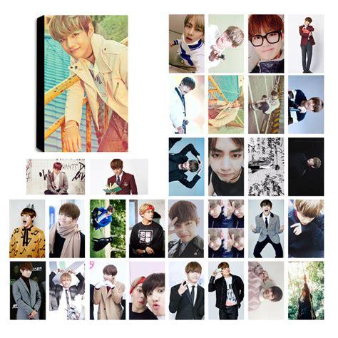 bts taehyung v lomo photocard set kpop mall usa