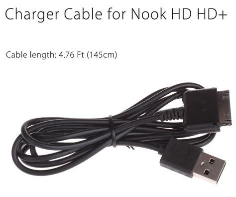 nook color charging cable usb data sync charging cord power charger cable for nook