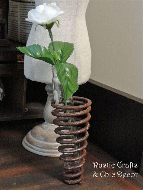 Test Tube Flower Vases Vase Crafts Ideas