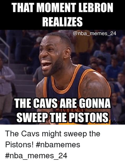 Cavs Memes - image gallery sweep meme
