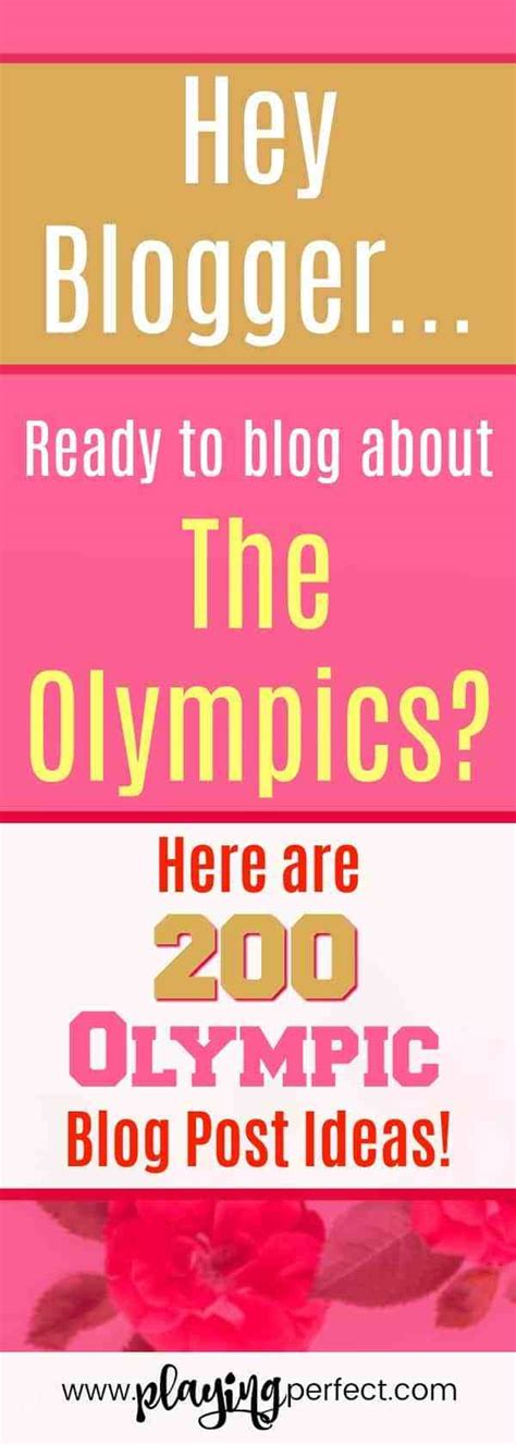 blog posts makewinner 200 olympic blog post ideas that will make you a winner