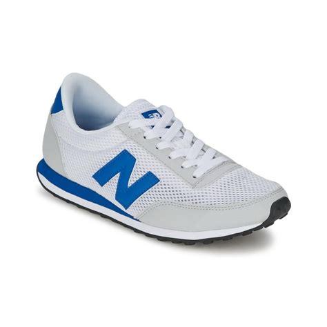 new balance classic sneakers mens new balance u410 white blue retro classic sneakers uk