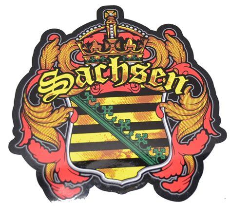 Wappen Aufkleber by Aufkleber Sachsen Wappen Spass Kostet Verschiedenes