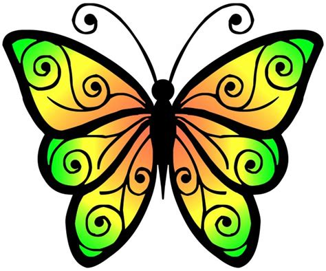 butterfly clipart clipart butterfly 4 free stock photo domain pictures