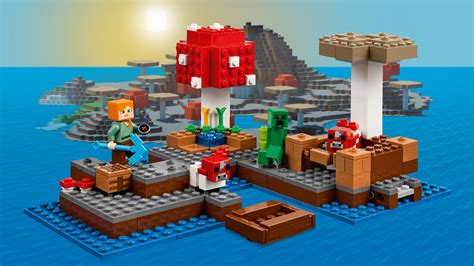 Lego Minecraft 21129 The Island 21129 the island products minecraft lego