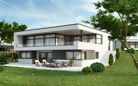 building houses modern house norway visarteam 3d visualization of exteriors and interiors