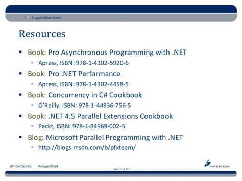 new book quot parallel programming with microsoft visual c asynchronous programming techniques with net 4 5 oxygen blast