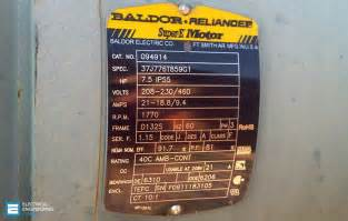19 essential information you can find on motor nameplate eep