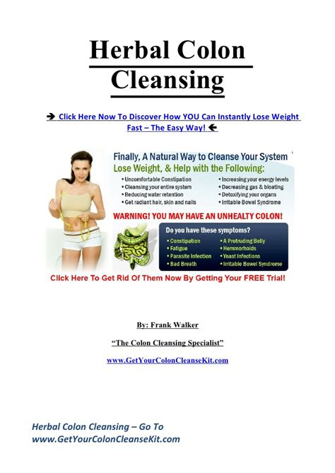 Detox Colonic Irrigation Leeds by Herbal Colon Cleansing