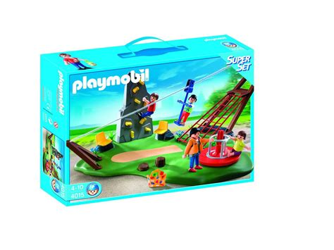 playmobil superset jardin d enfants