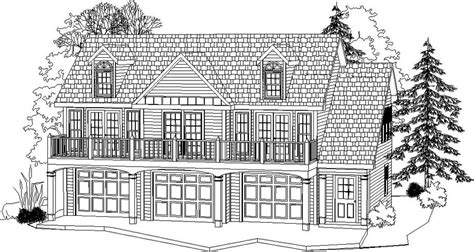 2 Car Garage With 2 Bedroom Apartment Plans by 2 Bedroom 1 Bath Country House Plan Alp 096c Chatham