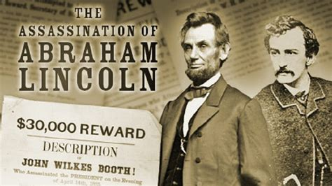why was abraham lincoln assassinated the assassination of abraham lincoln american experience