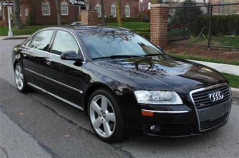 2007 Audi A8l For Sale by Find Used 2007 Audi A8l Awd Black Black Olufsen Sound