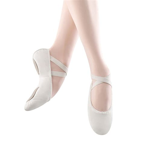 ballet slippers for bloch prolite ii leather ballet slippers white