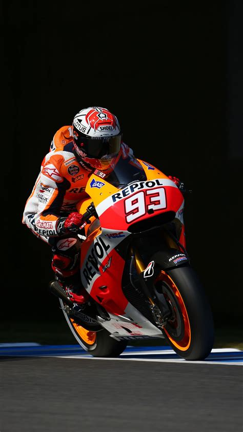 Marq Marquez 93 Mm93 Honda Iphone Se 5 5s Casing Cover Hardcase hd marc marquez iphone wallpaper 2018 iphone wallpapers