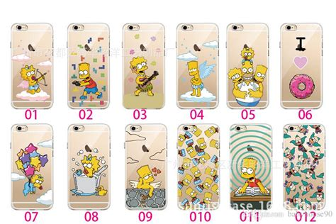 Casing Oneplus 2 The Simpsons All Character Custom Hardcase iphone 5 6 6 plus character protection cases simpsons covers tpu soft handle cover