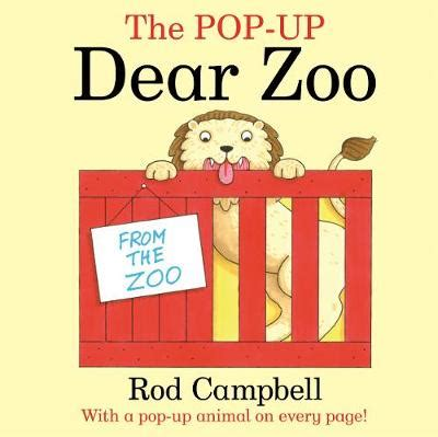 The Pop Up Dear Zoo The Pop Up Dear Zoo Book By Rod Cbell 2 Available
