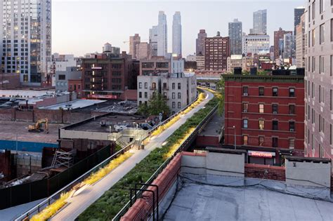 section 2 of the high line now open in new york