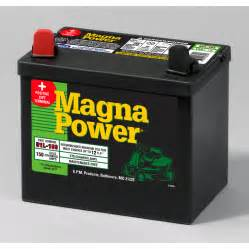 shop magna power 12 volt 175 lawn mower battery at