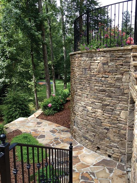 Kitchen Cabinets Las Vegas retaining walls expand landscaping options atlanta home