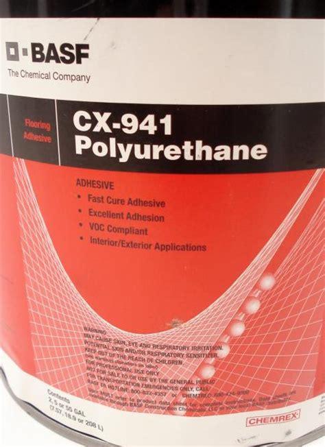 Floor Grade Polyurethane by Basf Chemrex Cx 941 Trowel Grade Polyurethane Wood