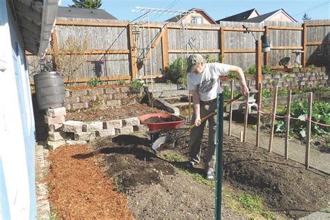 Garden Construction Gardening In Washington State Amending Soil For Vegetable Garden