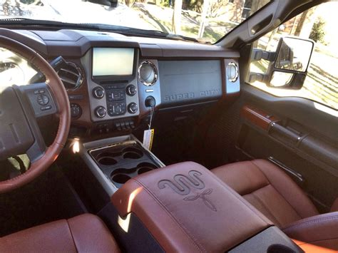 king ranch  interior  ford     crew cab
