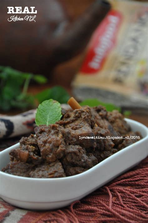 rendang indofood instan food indonesian food real