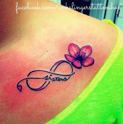 flower sister tattoos infinity flower billyinkslinger
