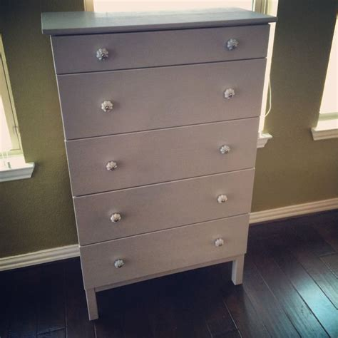 Tarva 5 Drawer Chest by Tarva 5 Drawer Dresser Transformation Projects To