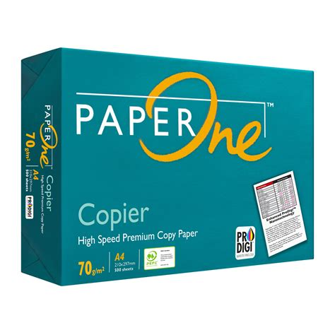 Paper One A4 80gr paperone copier a4 70 gsm paper 500pcs from redmart