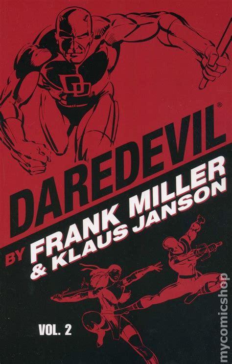daredevil by frank miller 0785195386 daredevil tpb 2008 2009 marvel by frank miller and klaus janson comic books