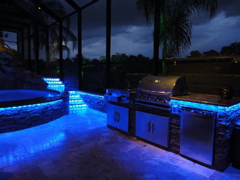 Lighting For Your Outdoor Kitchen A1 Electrical Outdoor Kitchen Lights
