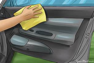 how to clean your car with household items yourmechanic